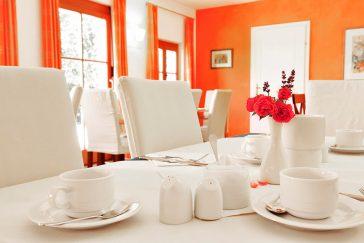 Winzerhof Hödl Frühstückstisch