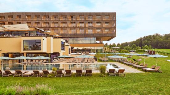 Aussenansicht des LOISIUM Wine & Spa Resorts in Ehrenhausen