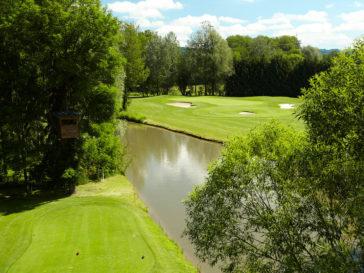 Golfplatz Luftaufnahme